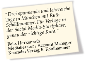 Felix Herkenrath zum Social Media Manager