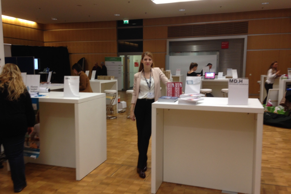 Podiumsdiskussion auf den Medientagen München